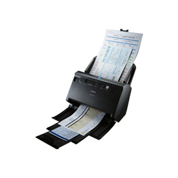 Canon imageFORMULA DR-C240 - Scanner de documents - CMOS / CIS - Recto-verso - Legal - 600 dpi x 600 dpi - jusqu'à 45 ppm (mono) / jusqu'à 30 ppm (couleur) - Chargeur automatique de documents (60 feuilles) - jusqu'à 4000 pages par jour - USB 2.0 (photo)