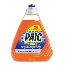 Liquide vaisselle main Paic - parfum citron - flacon de 500 ml + expert dégraissage (photo)