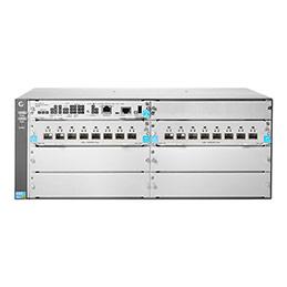 Aruba 5406R 16-port SFP+ (No PSU) v3 zl2 - Commutateur - Géré - 16 x 1 Gigabit / 10 Gigabit SFP+ - Montable sur rack (photo)