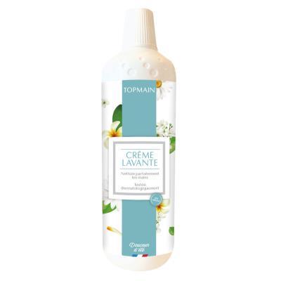 Savon liquide Topmain pour les mains - parfum douceur d'été - flacon 1 litre