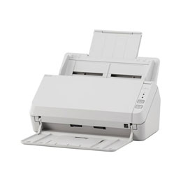 Fujitsu SP-1125 - Scanner de documents - Recto-verso - A4 - 600 dpi x 600 dpi - jusqu'à 25 ppm (mono) / jusqu'à 25 ppm (couleur) - Chargeur automatique de documents (50 feuilles) - USB 2.0 (photo)
