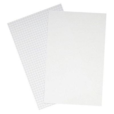 Fiches Bristol Oxford - A6 - 105 x 148 mm 210g/m² - blanc quadrillé - boîte 100 Feuilles