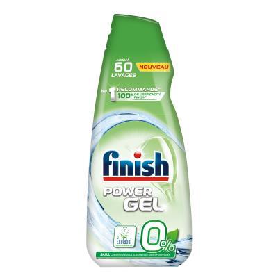 Power Gel 0% Ecolabel - détergent pour lave-vaisselle - flacon 900 ml - bouteille 900 millilitres (photo)
