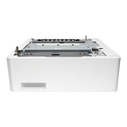 HP - Bac d'alimentation - 550 feuilles dans 1 bac(s) - pour Color LaserJet Enterprise M455; Color LaserJet Pro M454; LaserJet Enterprise MFP M480