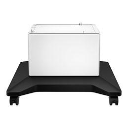 HP - Meuble pour imprimante - pour LaserJet Enterprise M507, MFP M528; LaserJet Enterprise Flow MFP M528