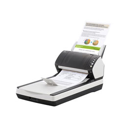 Fujitsu fi-7240 - Scanner de documents - Recto-verso - 216 x 355.6 mm - 600 ppp x 600 ppp - jusqu'à 40 ppm (mono) / jusqu'à 40 ppm (couleur) - Chargeur automatique de documents (80 feuilles) - USB 2.0 (photo)