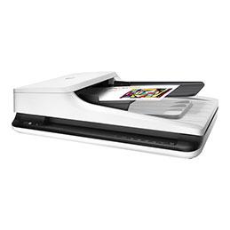 HP Scanjet Pro 2500 f1 - Scanner de documents - Recto-verso - A4/Letter - 1200 dpi x 1200 dpi - jusqu'à 20 ppm (mono) / jusqu'à 20 ppm (couleur) - Chargeur automatique de documents (50 feuilles) - jusqu'à 1500 pages par jour - USB 2.0 (photo)