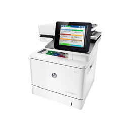 HP LaserJet Enterprise MFP M577dn - Imprimante multifonctions - couleur - laser - Legal (216 x 356 mm) (original) - A4/Legal (support) - jusqu'à 38 ppm (copie) - jusqu'à 38 ppm (impression) - 650 feuilles - USB 2.0, Gigabit LAN, hôte USB 2.0 (photo)