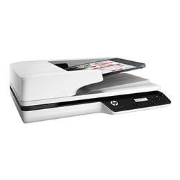 HP Scanjet Pro 3500 f1 - Scanner de documents - CMOS / CIS - Recto-verso - A4/Letter - 1200 dpi x 1200 dpi - jusqu'à 25 ppm (mono) / jusqu'à 25 ppm (couleur) - Chargeur automatique de documents (50 feuilles) - jusqu'à 3000 pages par jour - USB 3.0