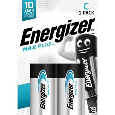 Piles Energizer Max Plus - C - blister de 2 piles