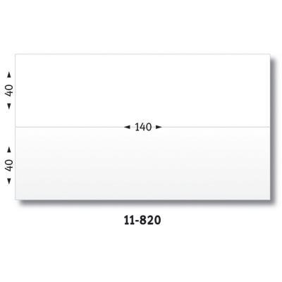 Etiquettes d'affranchissement 2 fronts - format 14 x 4 cm - boîte de 1000