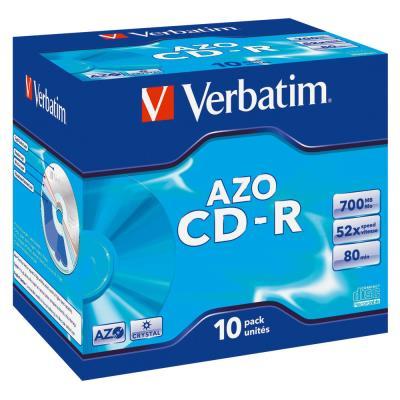 CD-R Verbatim - 80mn - 700 mo - boite de 10