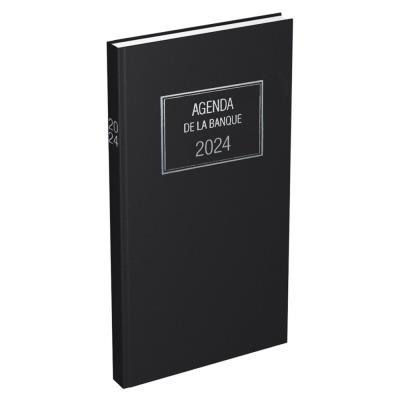Agenda de banque Lecas long - 15 x 34 cm - 1 volume - 2021 (photo)