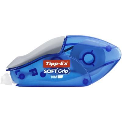 Roller de correction Tipp-ex Soft grip - dépose frontale - emplacement grip pour faciliter la prise en main - 4,2 mm x 10 m