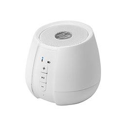 HP S6500 - Haut-parleur - pour utilisation mobile - sans fil - Bluetooth - 2 Watt - blanc doux - pour OMEN by HP 15; OMEN Obelisk by HP 875; Envy 17; ENVY x360; Pavilion 15; Spectre 13 (photo)