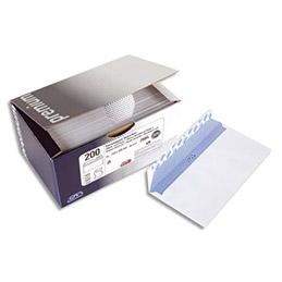 Boîte de 100 enveloppes GPV - 162x229mm - blanches - fenetre 45x100mm - 100g - auto-adhesive - Qualité + (photo)