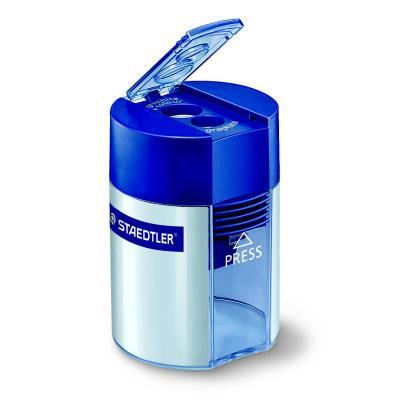 Taille-crayons 512 2 orifices - 8,2 mm et 10,2 mm orifices bleu et argent