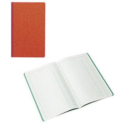 Cahier piqûre recettes/dépenses Exacompta - 32 x 19,5 cm - 80 pages (photo)