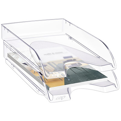 Corbeille à courrier Cep Pro Happy - cristal