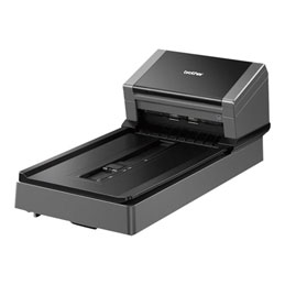 Brother PDS-5000F - Scanner de documents - Recto-verso - 218 x 5994 mm - 600 ppp x 600 ppp - jusqu'à 60 ppm (mono) / jusqu'à 60 ppm (couleur) - Chargeur automatique de documents (100 feuilles) - jusqu'à 6000 pages par jo... (photo)