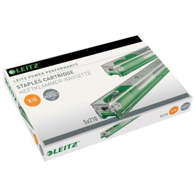 Recharges d'agrafes 26/10 - pour agrafeuses gros travaux Leitz - boîte de 5