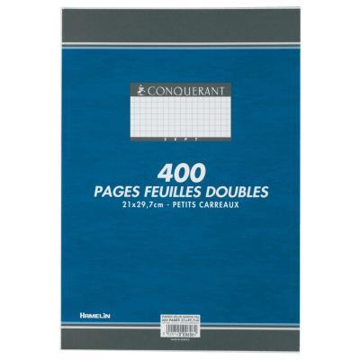Copies doubles 400 pages - 5x5 A4 - 210 x 297 mm blanc 90g/m² - non perforées