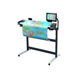 HP SD Pro - Scanner à rouleau - Capteur d'images de contact (CIS) - Rouleau (111,8 cm) - 1200 dpi x 1200 dpi - USB 3.0, Gigabit LAN - pour DesignJet T1708, T930, Z2600, Z6, Z6610, Z6dr, Z9+, Z9+dr; PageWide XL 4100, 4600, 5100