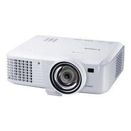 Canon LV-WX310ST - Projecteur DLP - portable - 3100 lumens - WXGA (1280 x 800) - 16:10 - HD 720p - Objectif fixe de courte portée (photo)