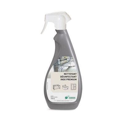Spray nettoyant inox Anios - parfum citron - 750 ml