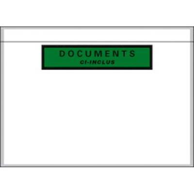 Boîte de 1000 pochettes document ci-inclus recyclées format C5 22,8 x 16,5 cm PPI2317 (photo)