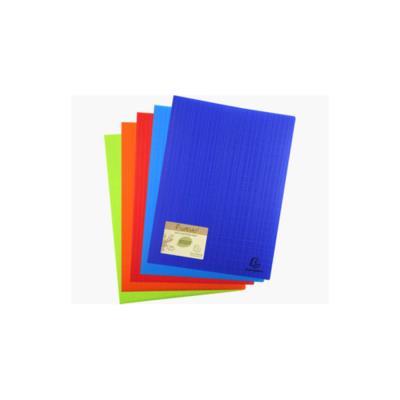 Protége-documents Exacompta Forever en polypropylène recyclé -  100 vues/50 pochettes A4 - coloris assortis