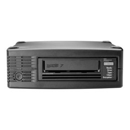 HPE StoreEver LTO-7 Ultrium 15000 - Lecteur de bandes magnétiques - LTO Ultrium (6 To / 15 To) - Ultrium 7 - SAS-2 - externe - chiffrement - Top Value Lite (photo)