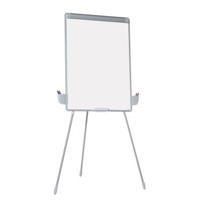 Chevalet de conférence - surface magnétique laquée effaçable à sec - 70 x 92 cm - blanc