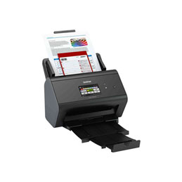 Brother ADS-2800W - Scanner de documents - Recto-verso - 215.9 x 5000 mm - 600 dpi x 600 dpi - jusqu'à 40 ppm (mono) / jusqu'à 40 ppm (couleur) - Chargeur automatique de documents (50 feuilles) - jusqu'à 3000 pages par jour - USB 2.0, Gigabit LAN, Wi-Fi(n), USB 2.0 (Host) (photo)