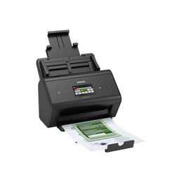 Brother ADS-3600W - Scanner de documents - Recto-verso - 215.9 x 5000 mm - 600 ppp x 600 ppp - jusqu'à 50 ppm (mono) / jusqu'à 50 ppm (couleur) - Chargeur automatique de documents (50 feuilles) - USB 3.0, LAN, Wi-Fi(n), USB 2.0 (Host) (photo)