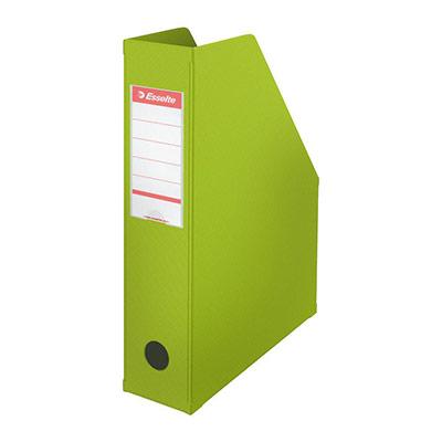 Porte-revues Esselte Vivida - dos 7 cm - vert
