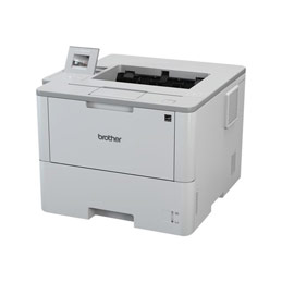 Brother HL-L6300DW - Imprimante - monochrome - Recto-verso - laser - A4/Legal - 1200 x 1200 ppp - jusqu'à 46 ppm - capacité : 570 feuilles - USB 2.0, Gigabit LAN, Wi-Fi(n), NFC (photo)
