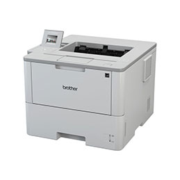 Brother HL-L6400DW - Imprimante - monochrome - Recto-verso - laser - A4/Legal - 1200 x 1200 ppp - jusqu'à 50 ppm - capacité : 570 feuilles - USB 2.0, Gigabit LAN, Wi-Fi(n), NFC (photo)