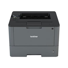 Brother HL-L5100DN - Imprimante - monochrome - Recto-verso - laser - A4/Legal - 1200 x 1200 ppp - jusqu'à 40 ppm - capacité : 300 feuilles - USB 2.0, LAN (photo)