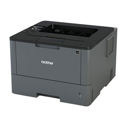 Brother HL-L5200DW - Imprimante - monochrome - Recto-verso - laser - A4/Legal - 1200 x 1200 ppp - jusqu'à 40 ppm - capacité : 300 feuilles - USB 2.0, LAN, Wi-Fi(n) (photo)