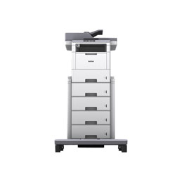Brother MFC-L6900DW - Imprimante multifonctions - Noir et blanc - laser - Legal (216 x 356 mm) (original) - A4/Legal (support) - jusqu'à 50 ppm (impression) - 570 feuilles - 33.6 Kbits/s - USB 2.0, Gigabit LAN, Wi-Fi(n), hôte USB, NFC (photo)