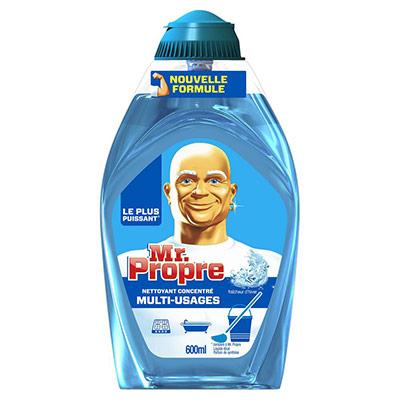 Nettoyant multi-usages Mr Propre - flacon gel liquide - fraicheur d'hiver 600 ml (photo)