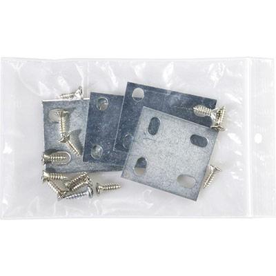 Sachet à fermeture Zip transparent 120 x 180 mm - épaisseur 50µ - carton de 1000 (photo)