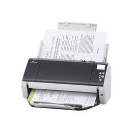 Fujitsu fi-7460 - Scanner de documents - Dual CCD - Recto-verso - 304.8 x 431.8 mm - 600 dpi x 600 dpi - jusqu'à 60 ppm (mono) / jusqu'à 60 ppm (couleur) - Chargeur automatique de documents (100 feuilles) - USB 3.0 (photo)