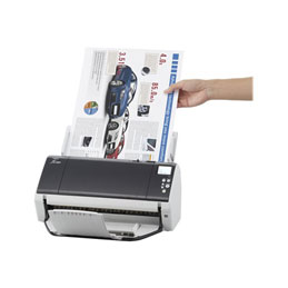 Fujitsu fi-7480 - Scanner de documents - Recto-verso - 304.8 x 431.8 mm - 600 dpi x 600 dpi - jusqu'à 160 ppm (mono) / jusqu'à 160 ppm (couleur) - Chargeur automatique de documents (100 feuilles) - USB 3.0 (photo)
