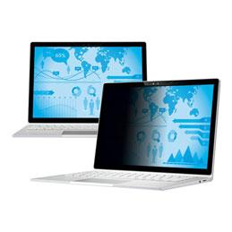 3M Privacy Filter - Filtre de confidentialité pour ordinateur portable - noir - pour Microsoft Surface Book (photo)