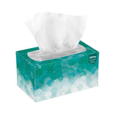 Serviettes en papier pliées Kleenex Ultra Soft Pop-Up - simple épaisseur - enchevêtrées - 70 feuilles - 225 mm - blanc - paquet 70 feuilles