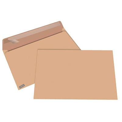 Enveloppe kraft blond Premium C4 229 x 324 mm 90g sans fenêtre - ouverture grand côté - bande autoadhésive - boîte 250 unités