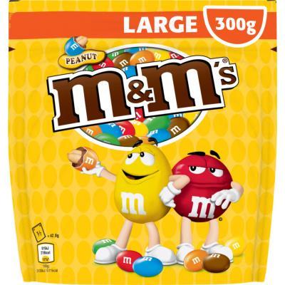 Cacahuètes chocolat au lait - pochon de 300 g - paquet 300 grammes