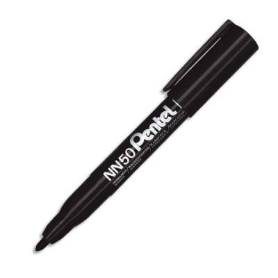 Marqueur permanent Pentel NN50 - pointe ogive - corps plastique - encre noire formule écologique